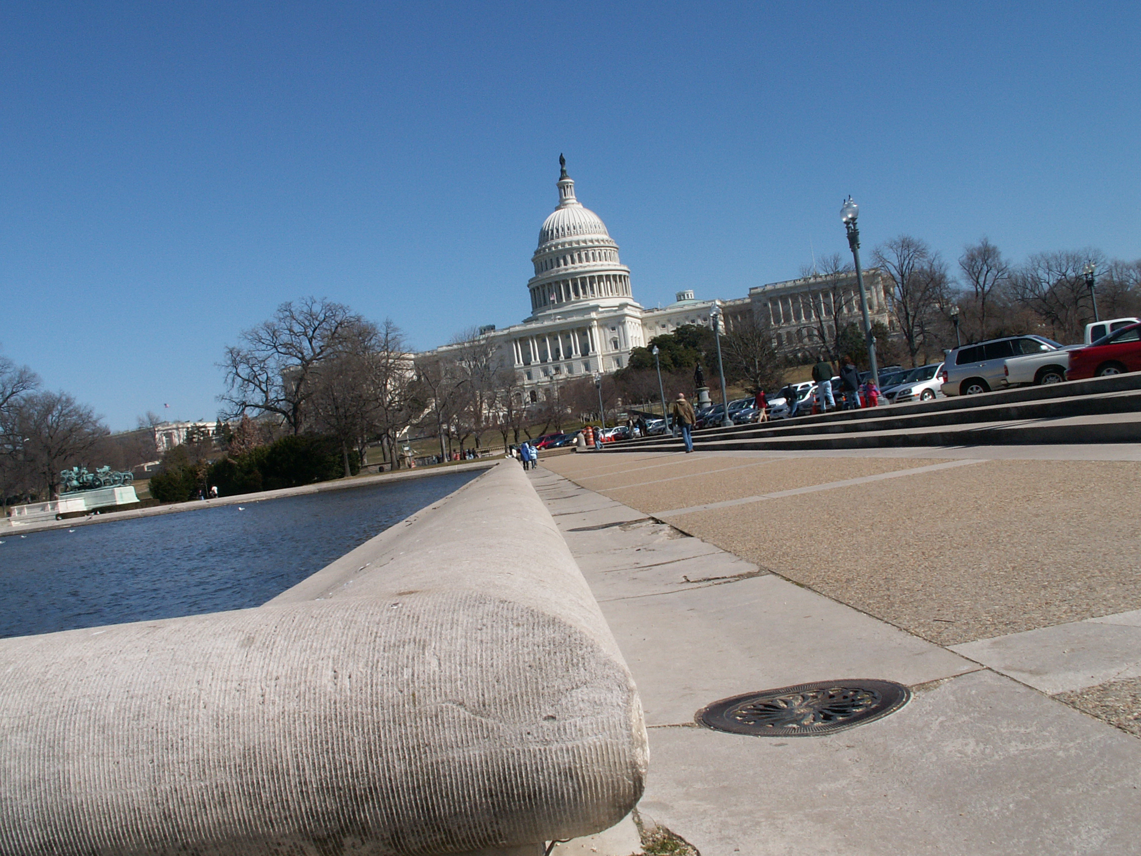 Fossils in the architecture of washington dc a guide to washington 39 s accidental museum of - Reflecting pool ...