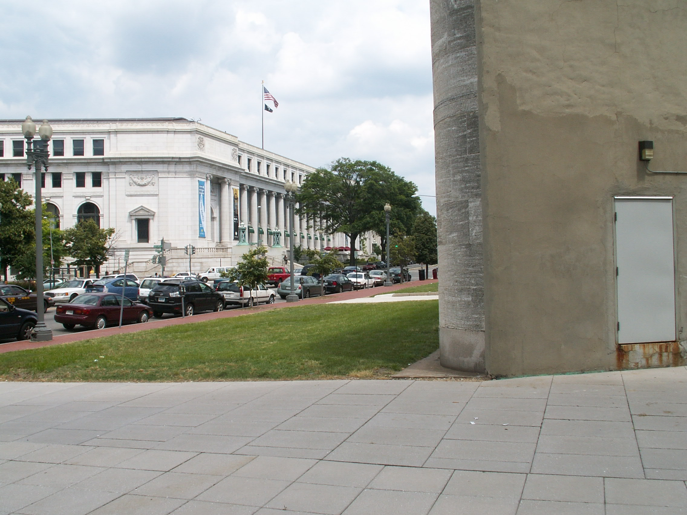 Restaurant exterior architecture -  The Restaurant Of The Same Name Far Larger Modern Structures Stand Behind It And Diagonally Across Massachusetts Ave Lies The Old Main Post Office